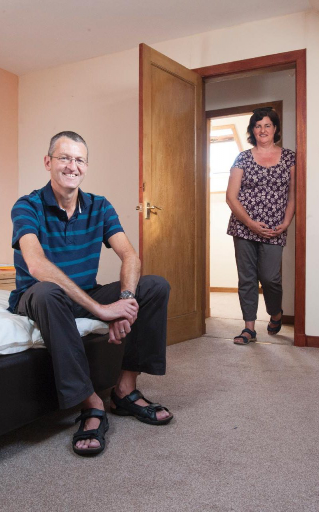 The couple could rent out two of their rooms for extra income